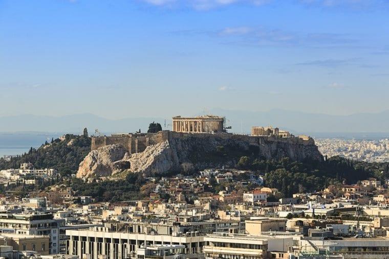 The Acropolis of Athens Greece