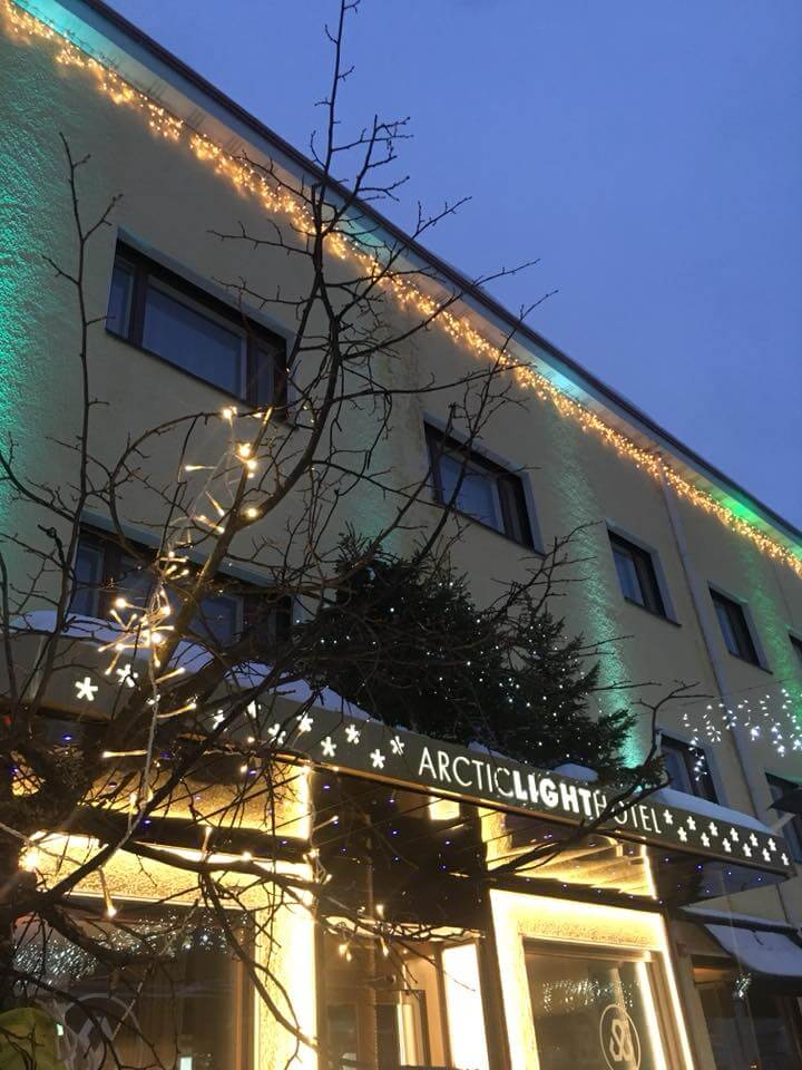 The Arctic Light Hotel in Rovaniemi