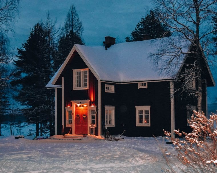 A beautiful Scandinavian home in Lapland