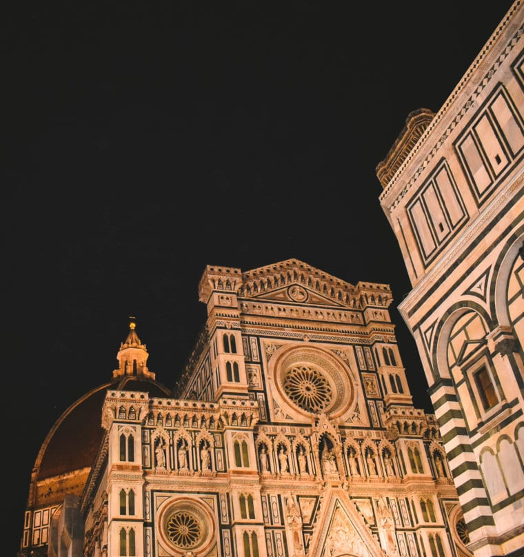 The decorative Florence Duomo