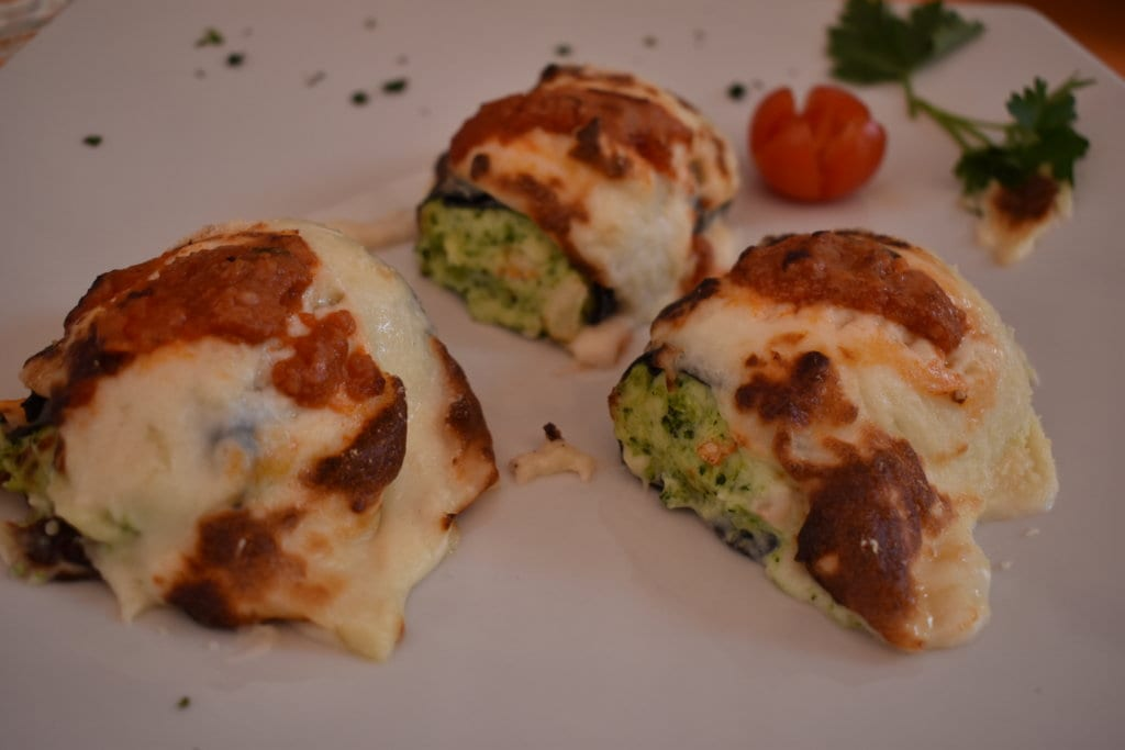 Delicious cannelloni from Northern Italy