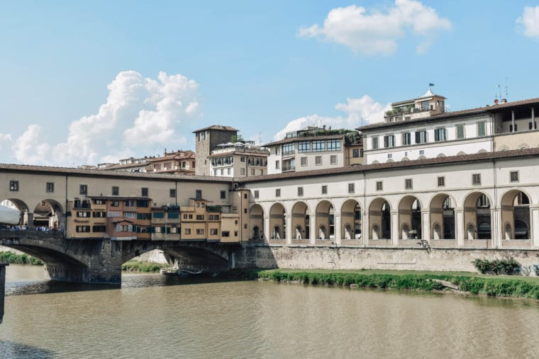 The beautiful buildings of Florence