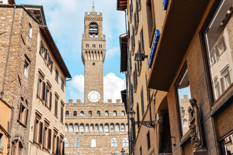 Renaissance architecture in Florence Italy