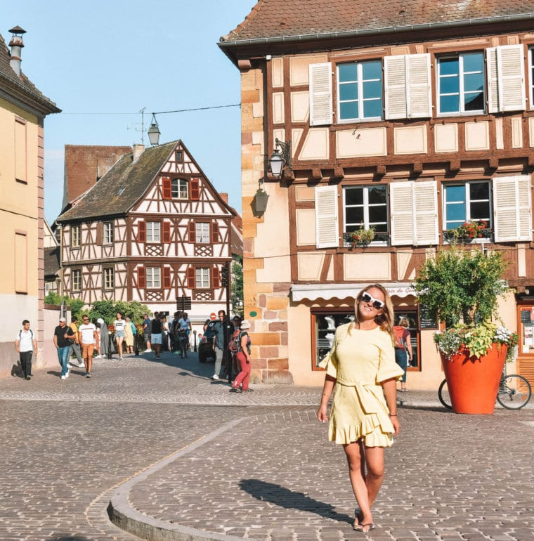 A summer day exploring Colmar, France