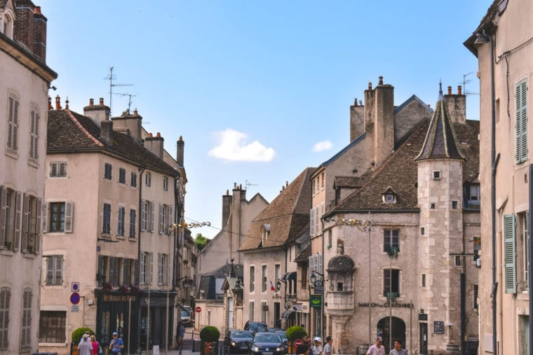 A beautiful day in Beaune, France