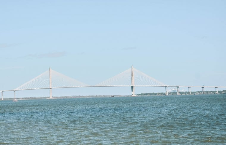 An iconic bridge in Charleston, South Carolina