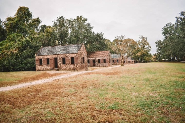 The Slave Quarter at Boone Hall Plantation