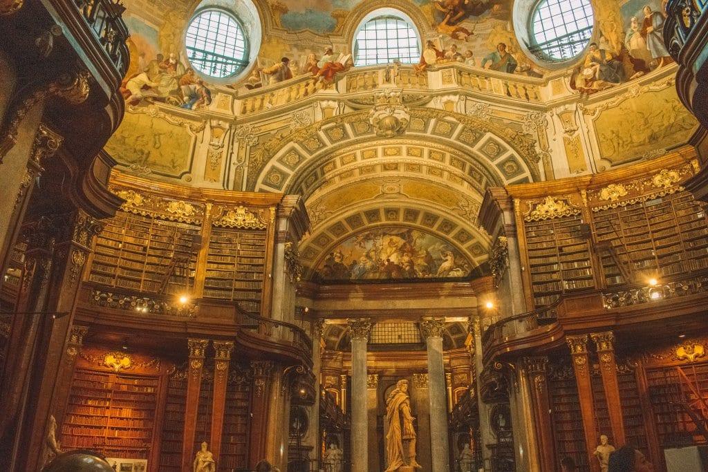 Austrian National Library in Vienna, Austria