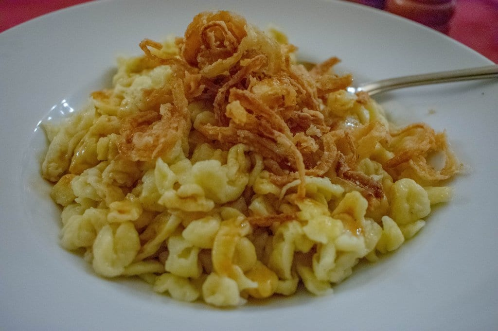 One of the tastiest signature dishes from around the world - spatzle from Germany