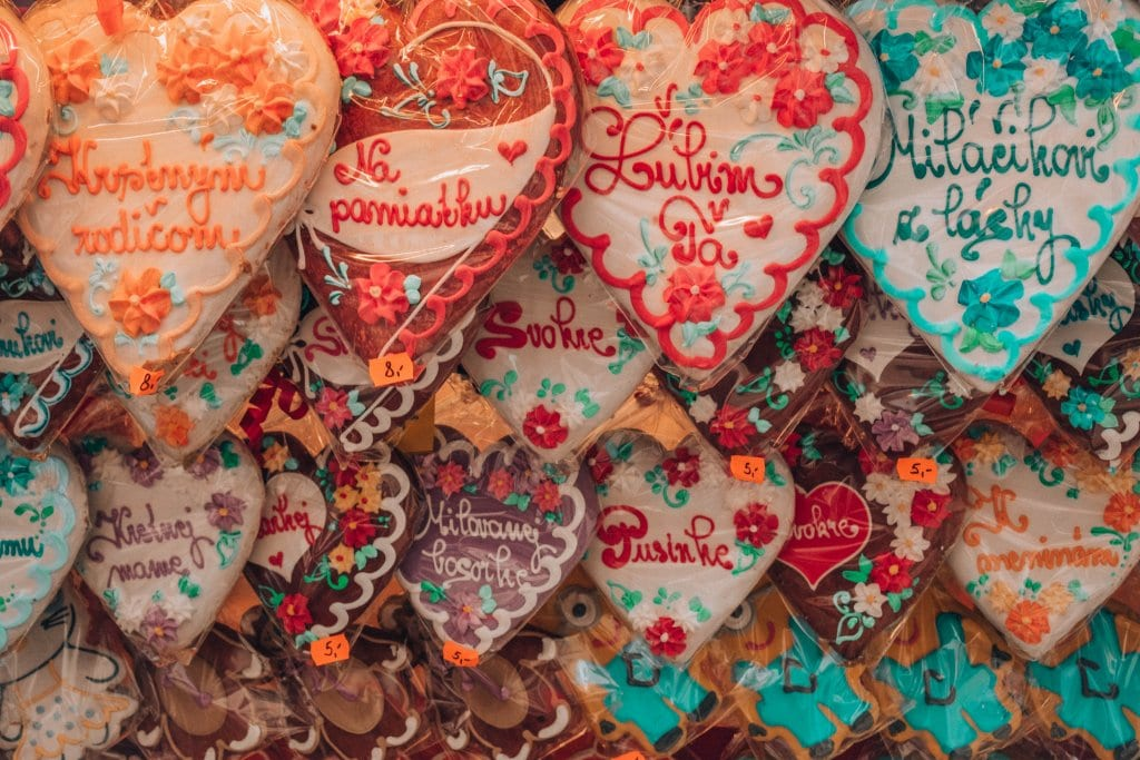 Gingerbread cookies from the Vienna and Bratislava Christmas markets