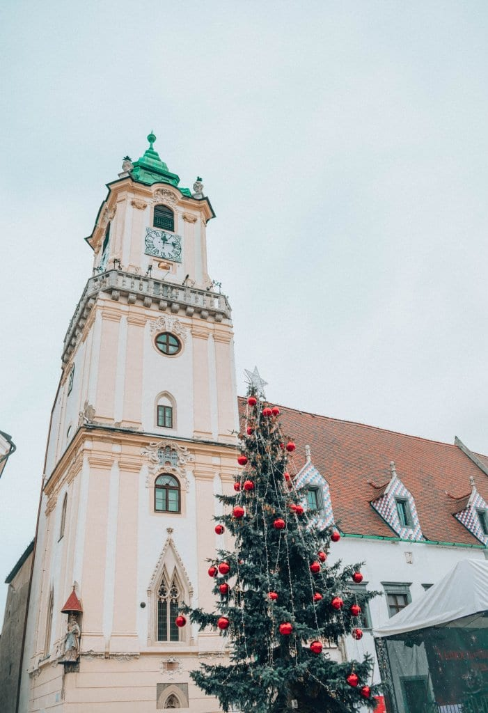 Christmastime in Vienna, Austria with a Pit Stop in Bratislava, Slovakia