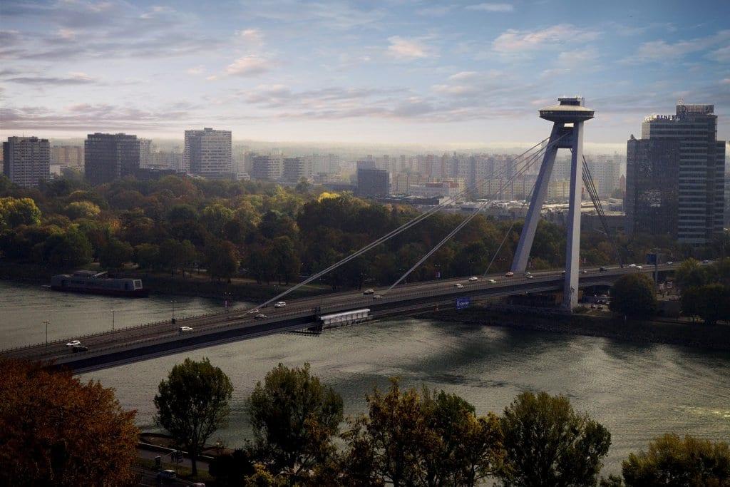 Most SNP in Bratislava, Slovakia