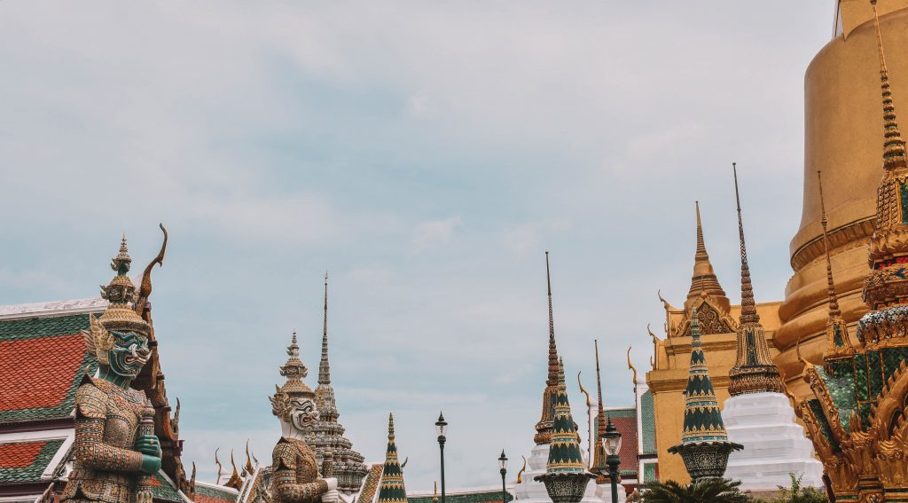 Architectural wonders at the Grand Palace in Bangkok