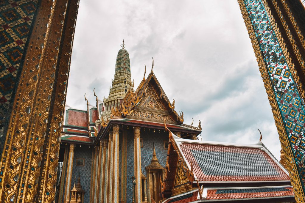 The beauty of the Grand Palace in Bangkok