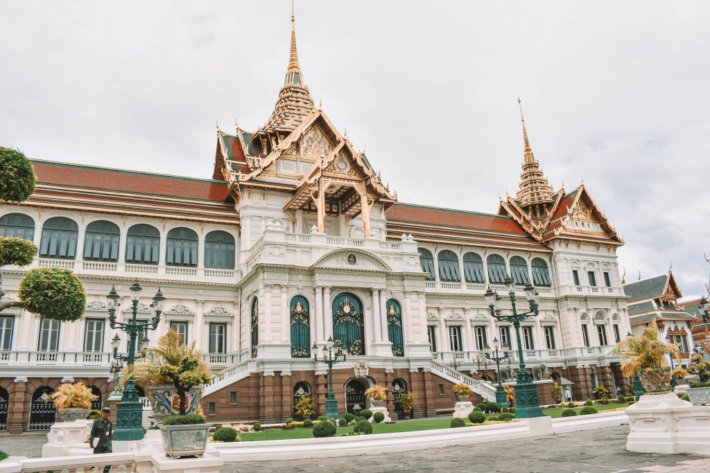 A beautiful building in the capital of Thailand
