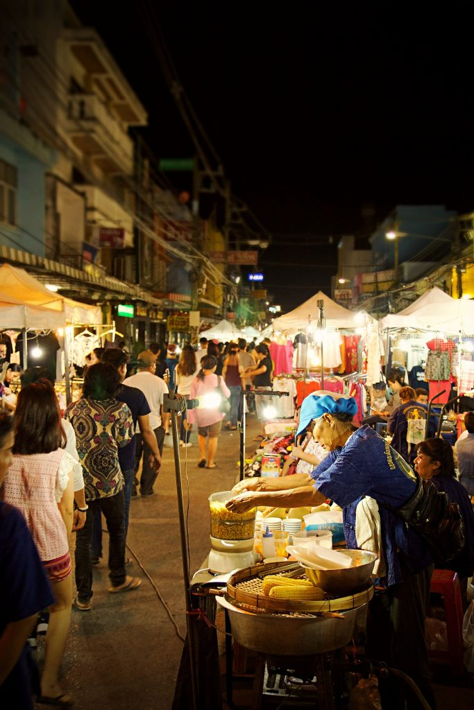 The Chiang Mai Night Bazaar