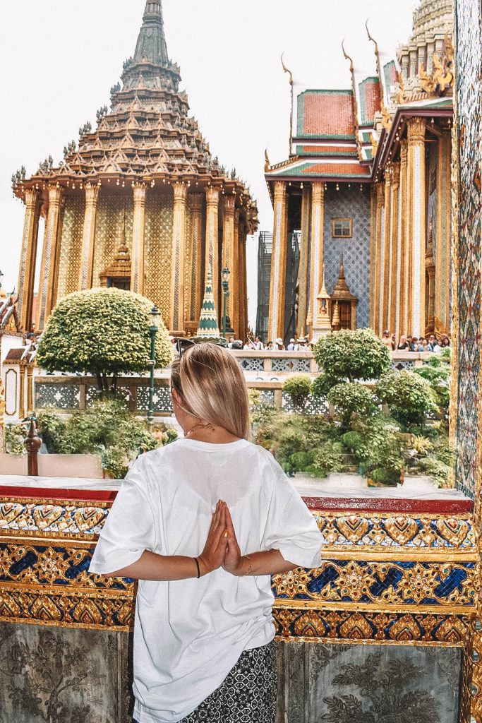 Views of the Grand Palace in Bangkok, Thailand