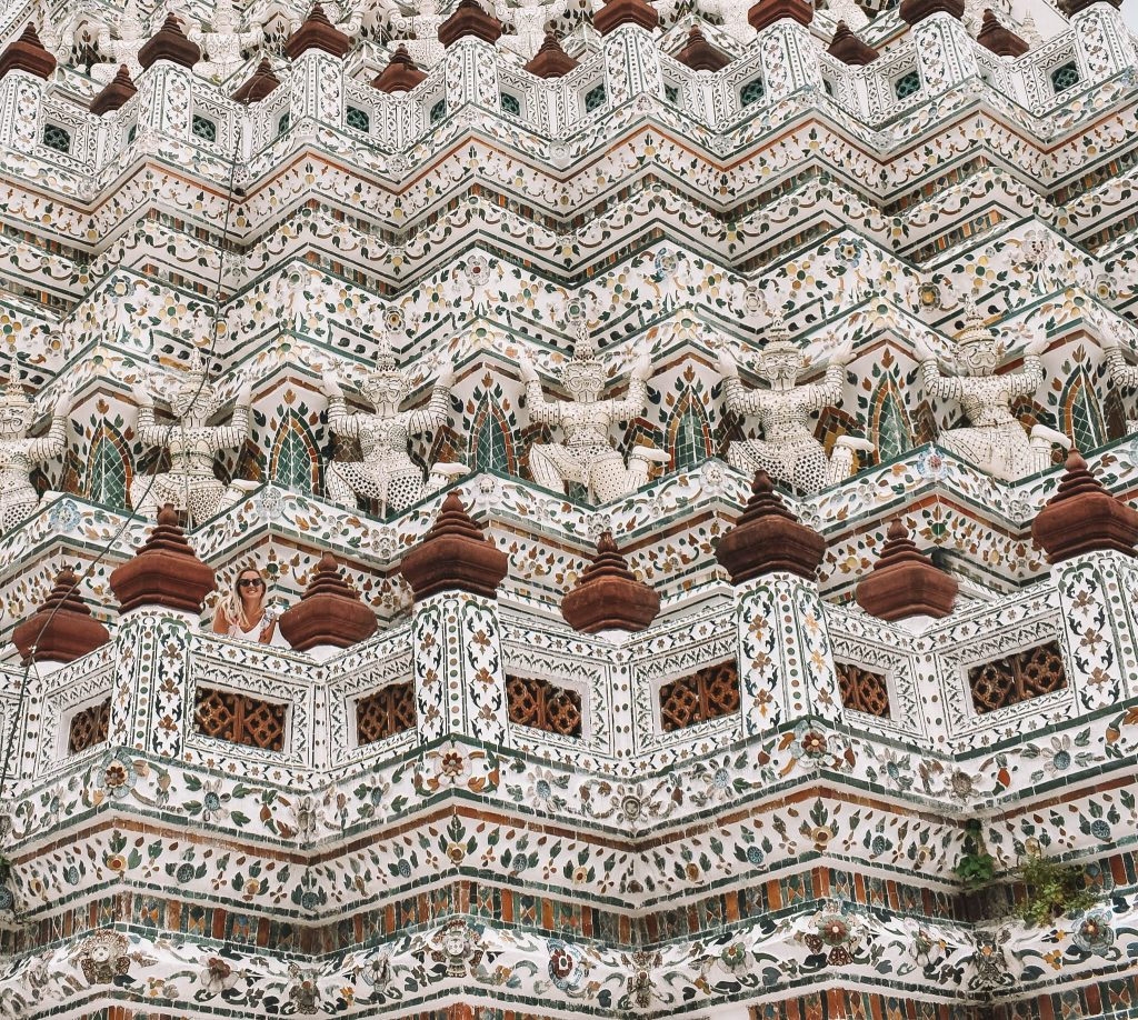 The beautiful Wat Arun temple in Bangkok