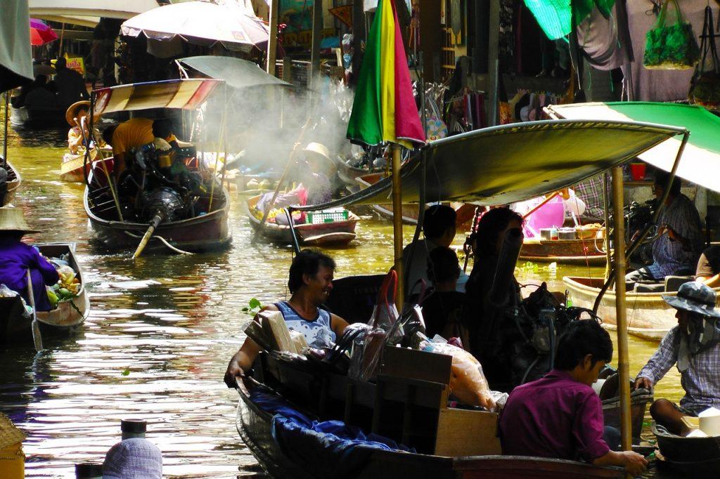 Thailand's Floating Markets in Damnoen Saduak