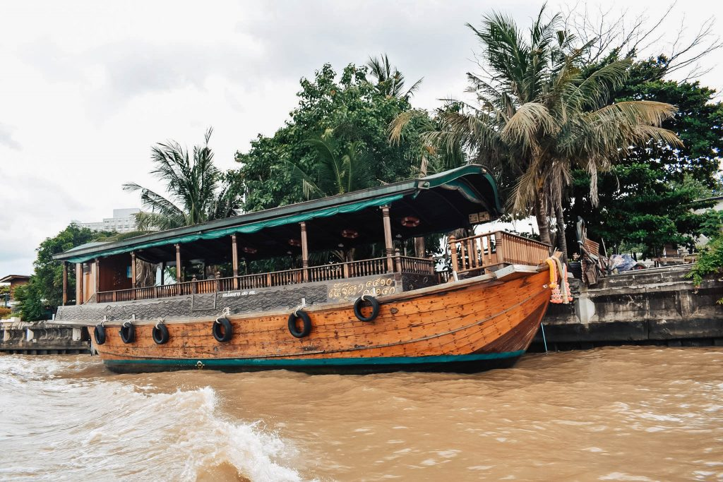 A river cruise on the Chao Phraya River