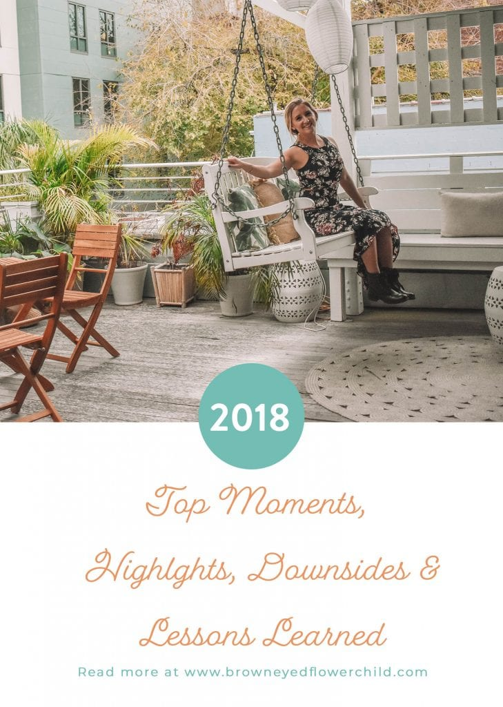 2018! Top Moments Highlights, Downsides and Lessons Learned