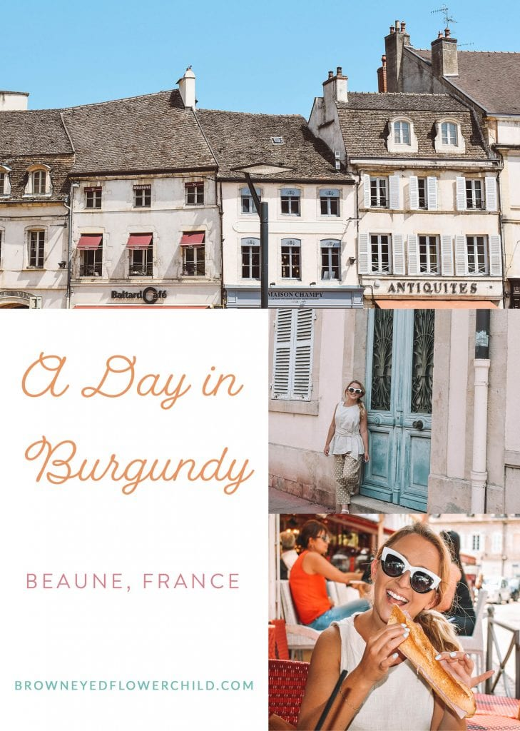 A Day in Burgundy, Beaune, France