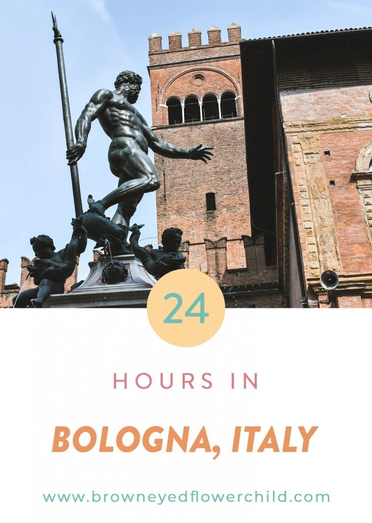 24 Hours in Bologna, Italy