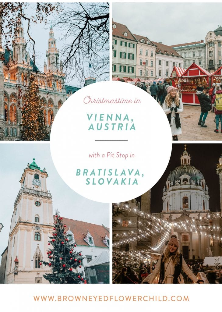 Christmastime in Vienna and Bratislava