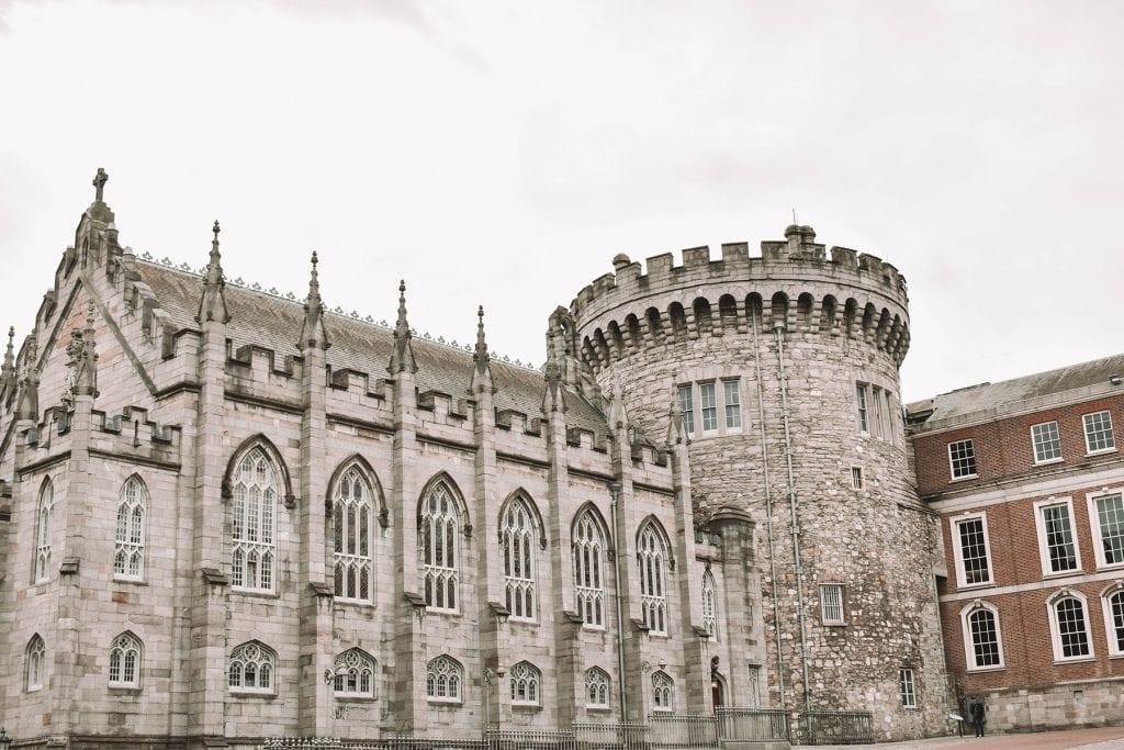 Beautiful Dublin Castle in Ireland