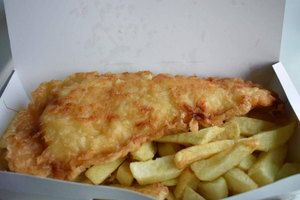 One of the most popular signature dishes in the world - fish and chips