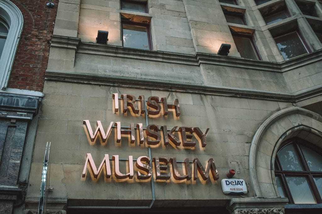 The Irish Whiskey Museum, one of the most fun experiences in Dublin