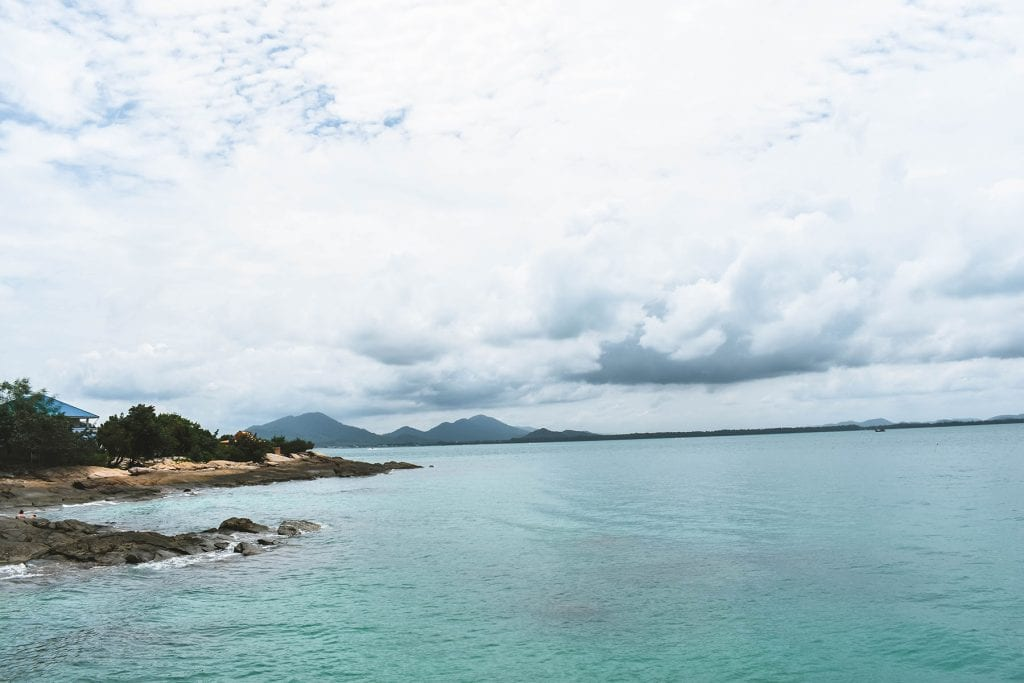 Mountain views in Koh Samet, Thailand