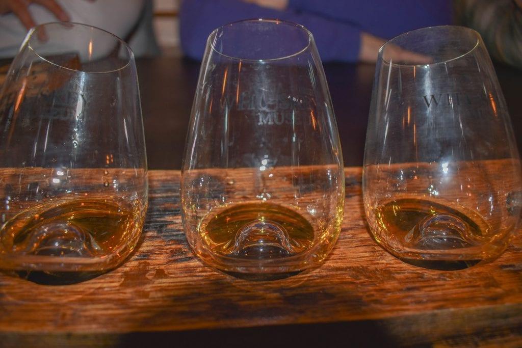 Whiskey tasting experiences in Dublin