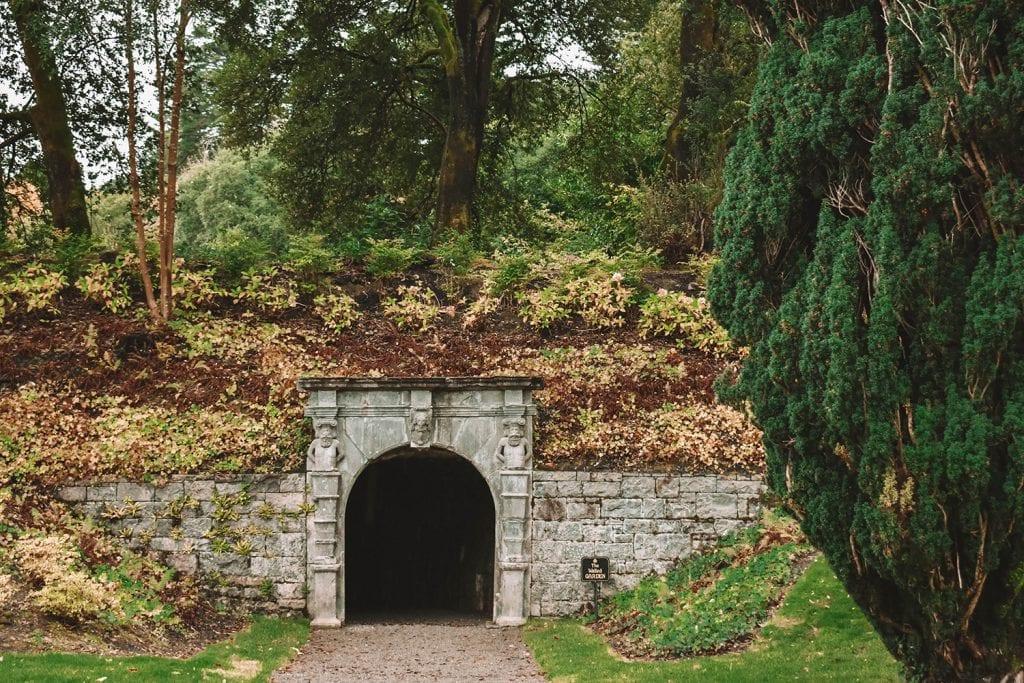 The beautiful grounds of Ashford Castle Ireland