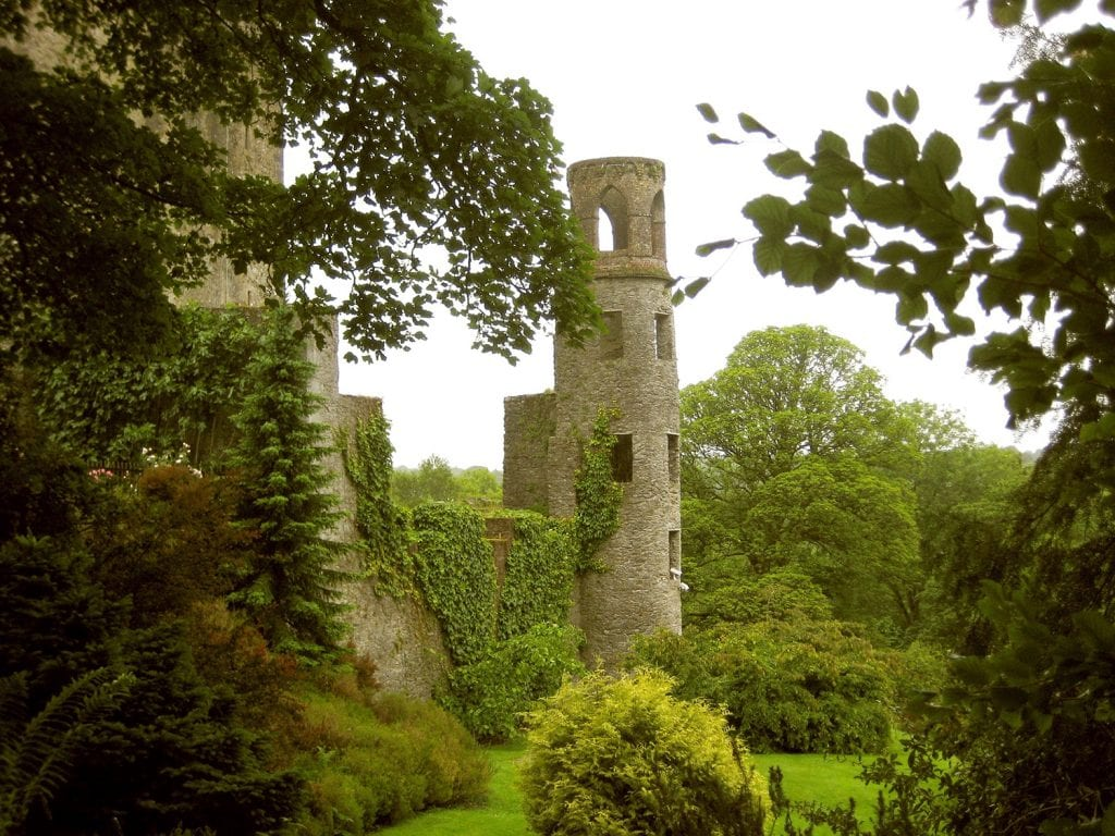 The Blarney Stone in Cork, Ireland
