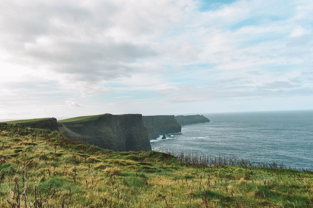 The breathtaking Cliffs of Moher