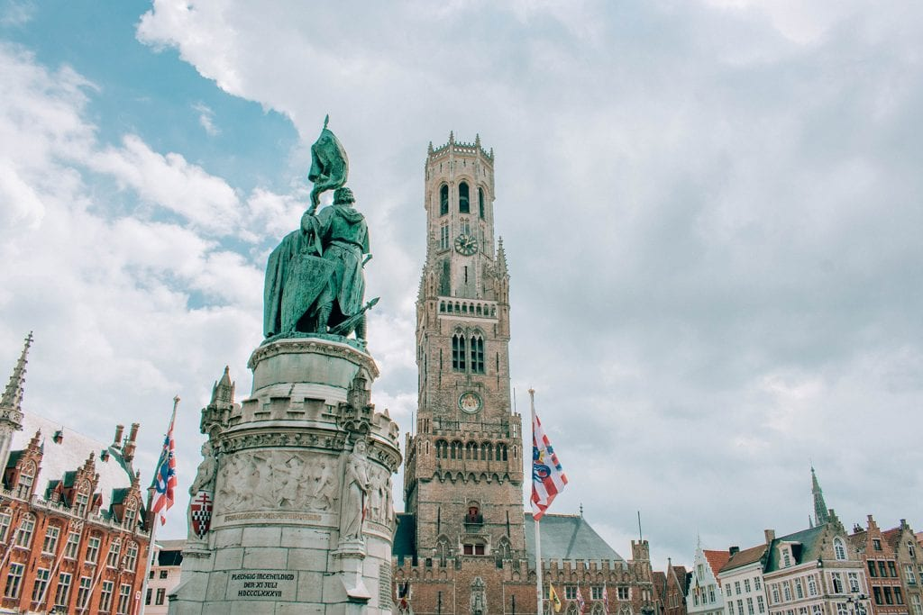The Markt of Brugge, Belgium in a day trip
