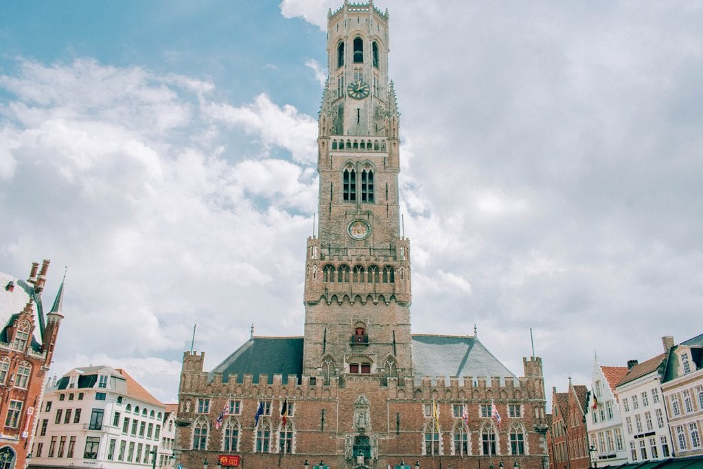 The Belfry Tower of Bruges