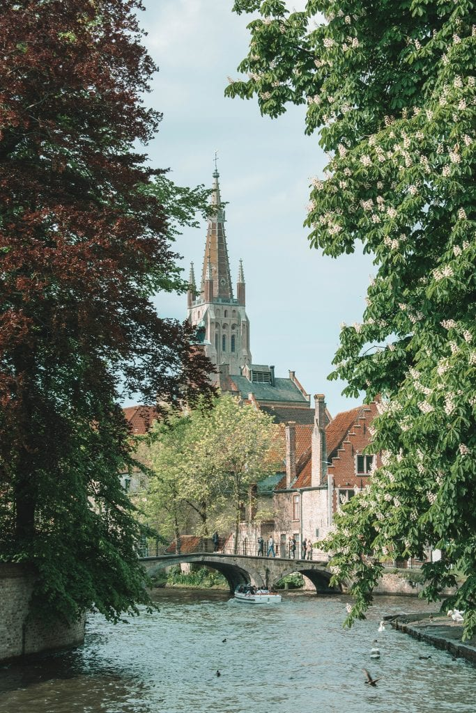 A beautiful spring day trip to Bruges from Amsterdam