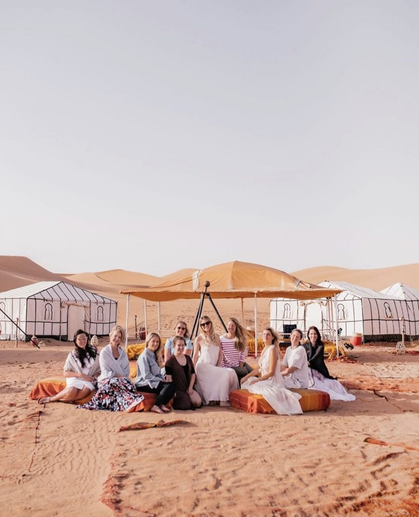 We Are Travel Girls luxury women's group trip in Morocco