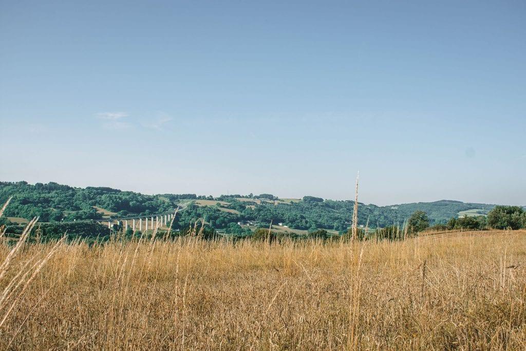 Rural views along the Camino de Santiago route