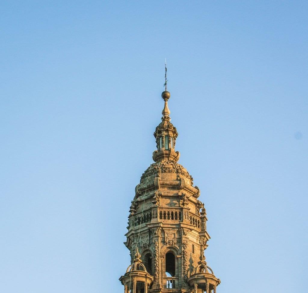 Historical landmarks in Santiago de Compostela