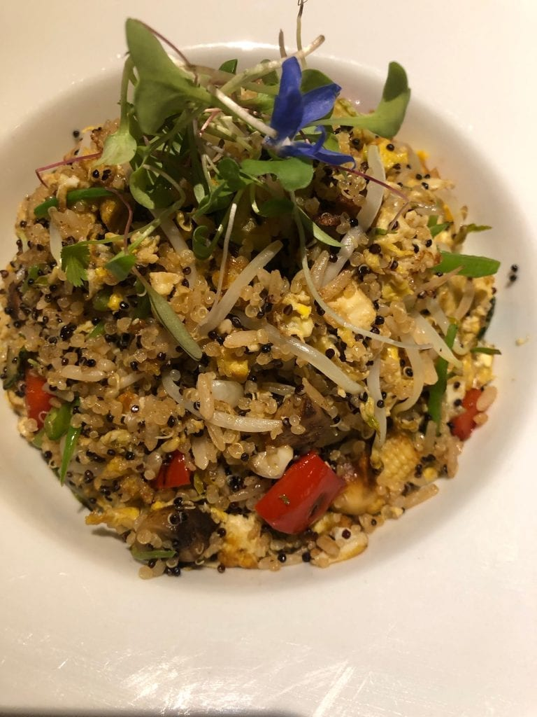 Chaufa de Quinoa, one of the tastiest signature dishes around the world