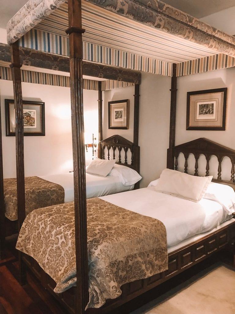 A room in the Parador de Santiago de Compostela