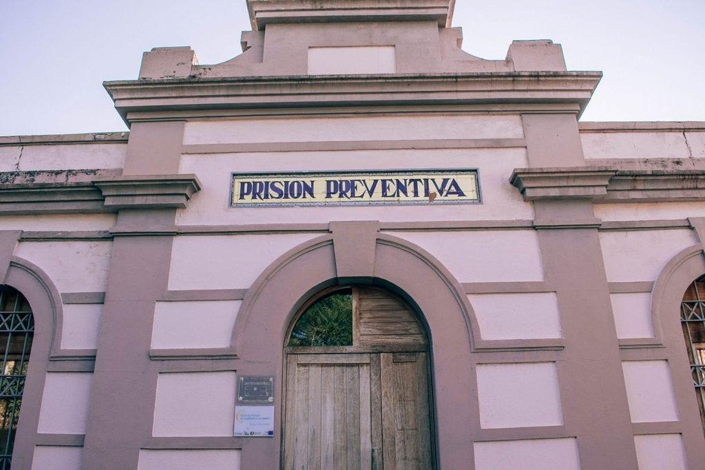A pink prison along the Camino de Santiago