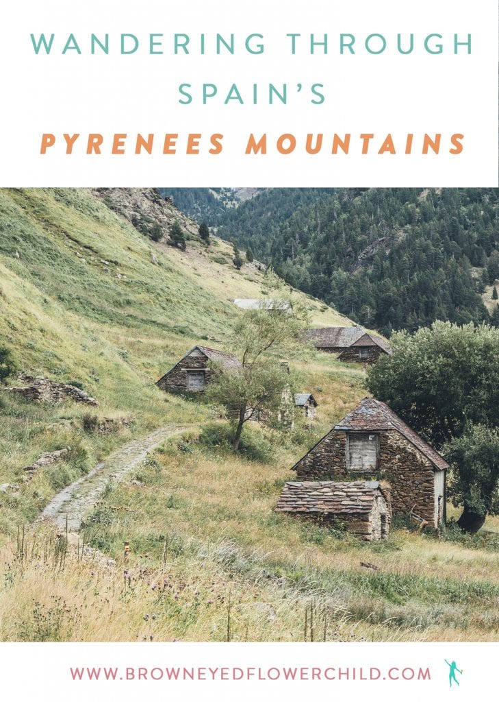 Wandering through Spain's Pyrenees Mountains