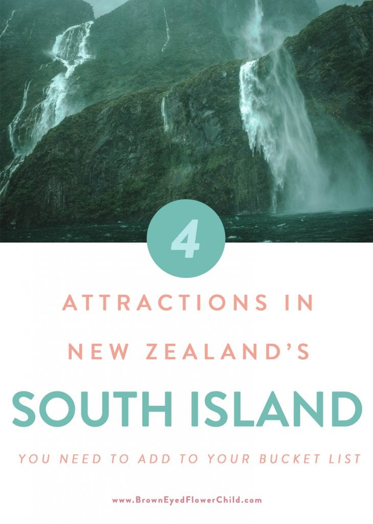 4 Attractions in New Zealand's South Island You Need to Add to Your Bucket List