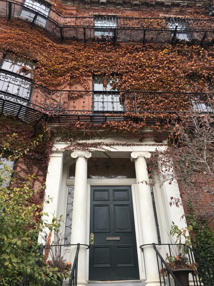 A beautiful building in Beacon Hill of Boston