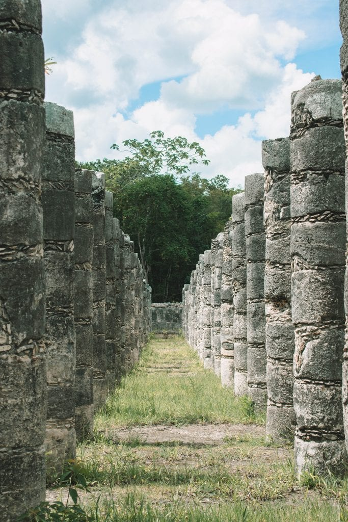 Cool ancient Mayan ruins in Mexico