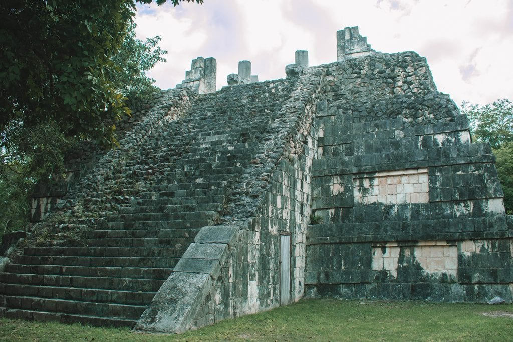 Mayan ruins at Chichen Itza in Mexico